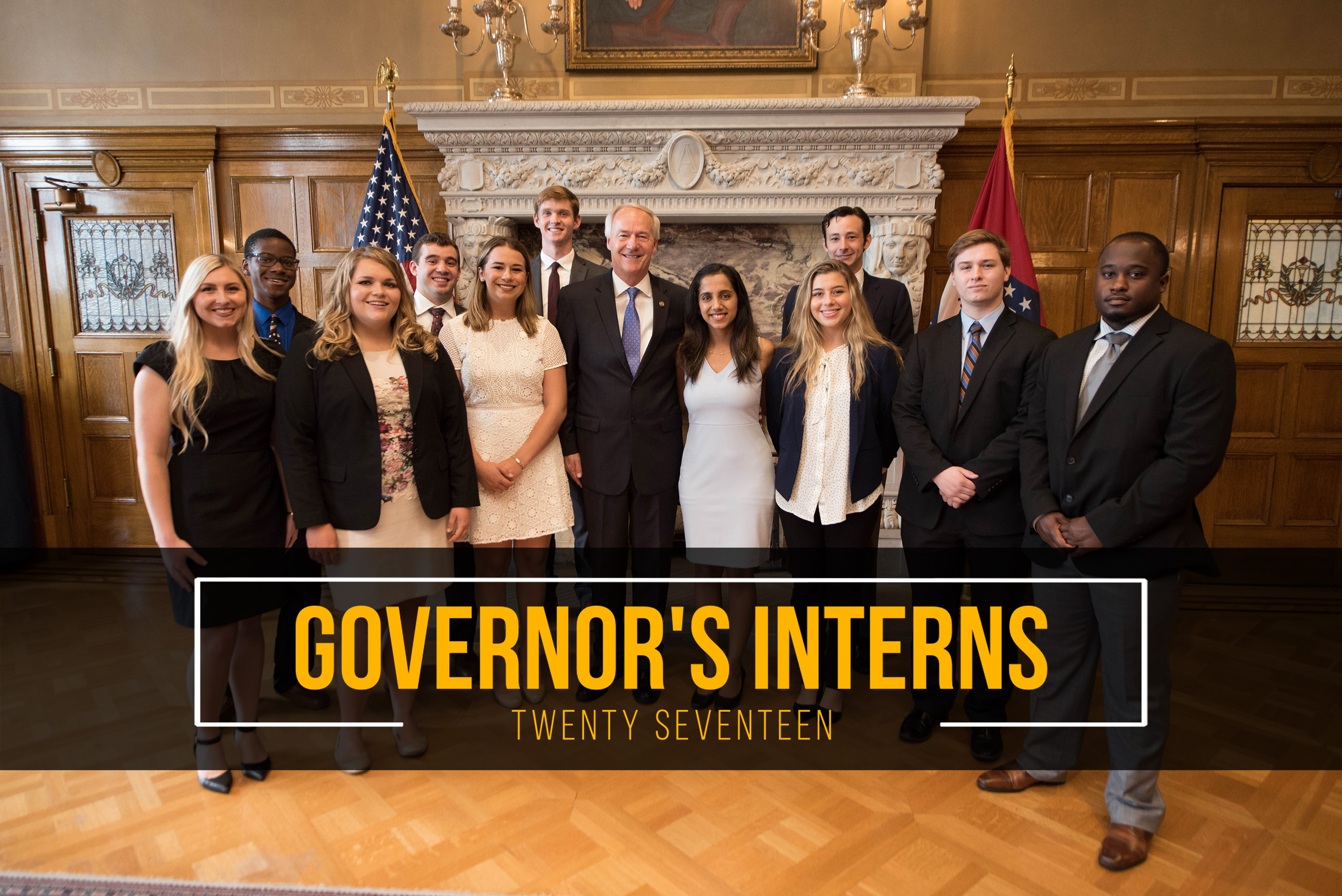 Governor's Interns 2017