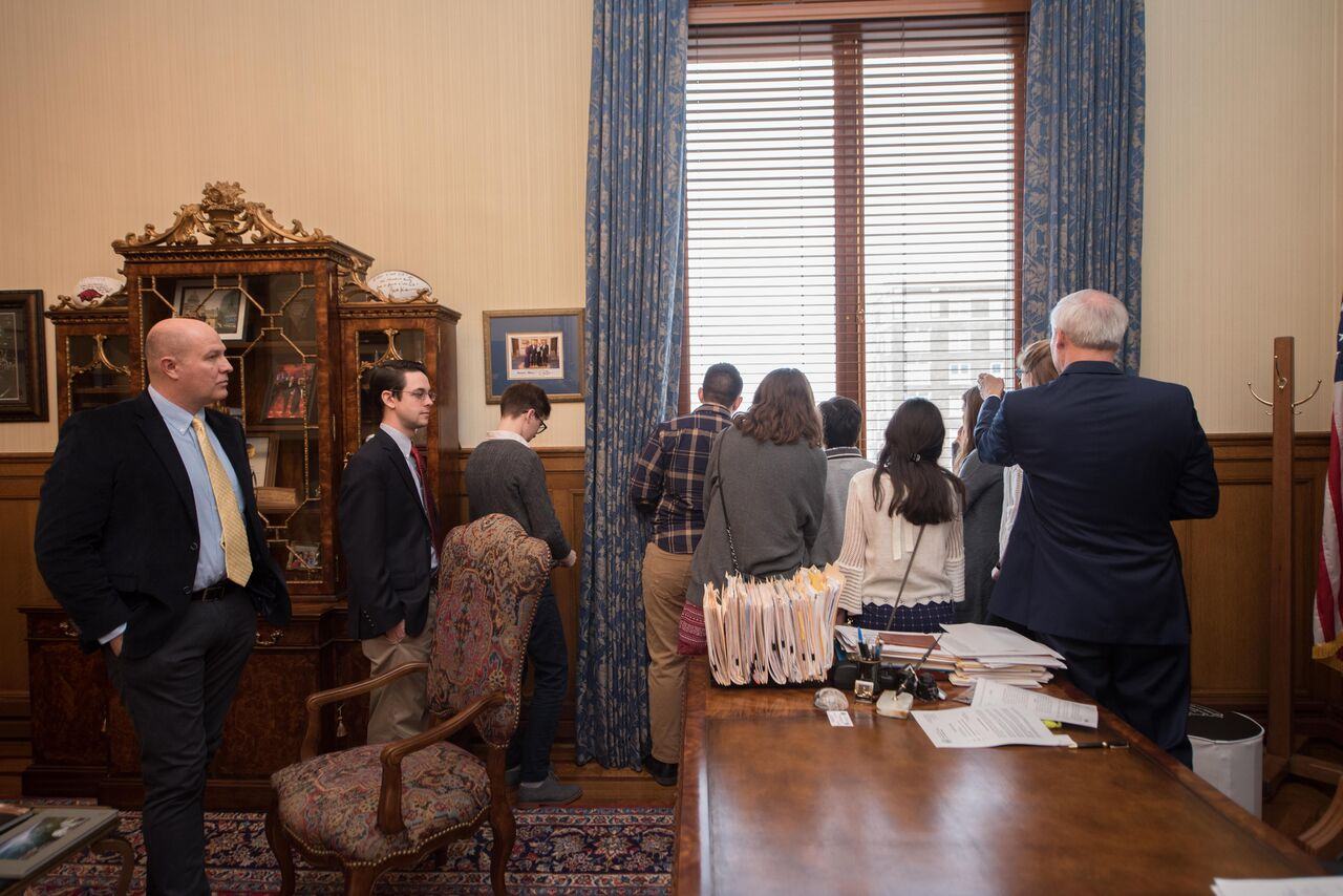 10 governors later, Gettysburg College students see a different landscape in Little Rock